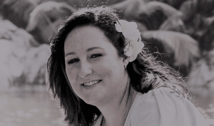 Black and WHite picture of the owner of Red Poppy Design a Website Designer in South Africa