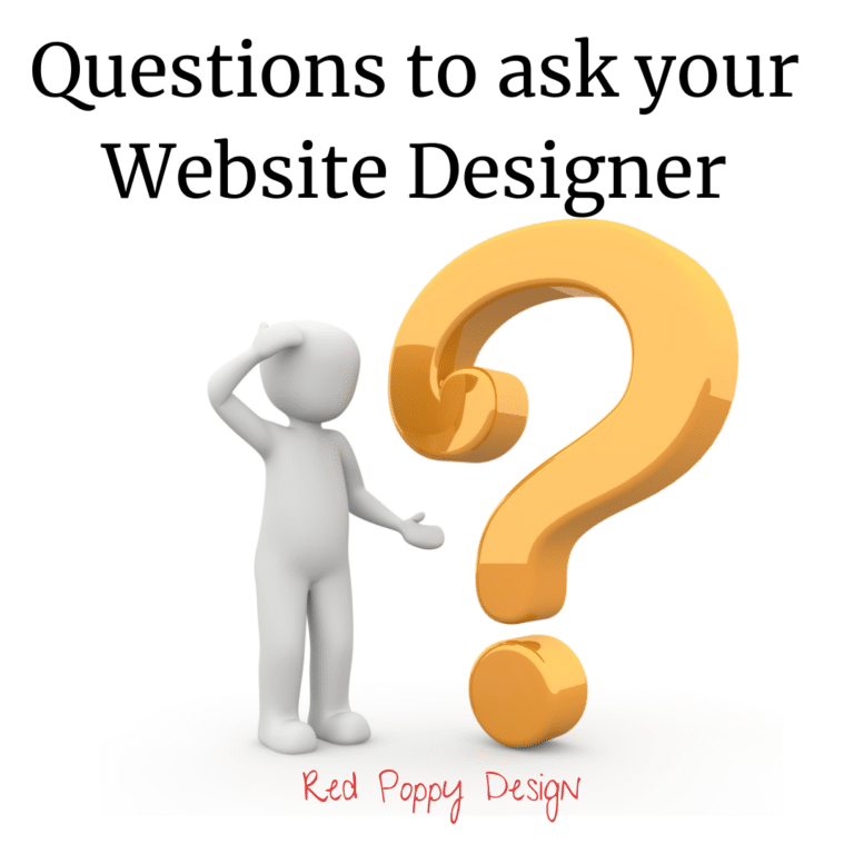 Questions to ask your website designer